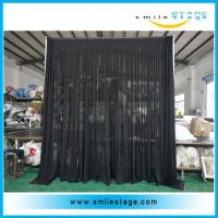 China Wedding backdrop stand easy to assemble pipe and drape stands on sale