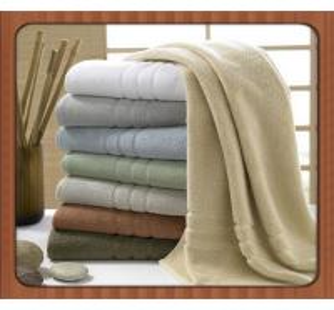 Quality Wholesale custom beach towel 70% bamboo fiber 30% cotton hotel bath towel fabric for sale