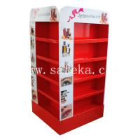 China Supermarket Cardboard Pallet Displays For Cosmetics wholesale