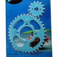China Sprockets for motorcycle, made of steel wholesale