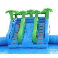 Quality Dragon Huge Adults Inflatable Water Park Slides For Swimming Pool for sale