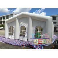 Quality 20X10X6M Size Outdoor Inflatable Party Tent with 0.55mm PVC Material for sale