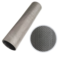 China Inconel 601 Hastelloy C-276 Plain Weave 50 Micron Wire Filter Mesh on sale