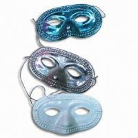 China Party Masks with 100% Polyester, Made of Plastic wholesale