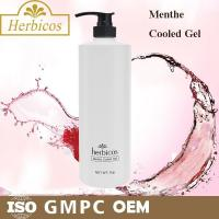 1000ml natural organic Menthe Cooled Skin Gel Cold Mask for keeping calm