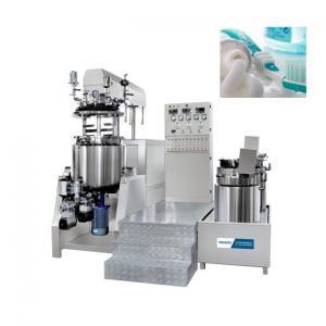 China Automatic vacuum homogenizing emulsifier/ gel emulsifier making machine/chemical machinery equipment wholesale