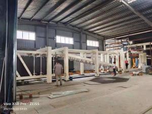 China Block Machineinterlocking Bricks Machine Cross Cutting AAC Machine Overturn Table wholesale