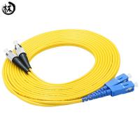 China Durability Upc Sm Dx Fc Sc Patch Cord , Fiber Optic Ethernet Cable 3 Meter on sale