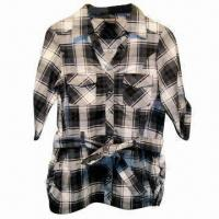 China Cotton Children's Shirts with Belts wholesale