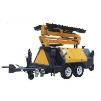 China 2016 4*1000w Hydraulic Light Tower / Telescopic Light Tower Generator with Mobile Trailer wholesale