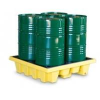 China SYSBEL Oil Tank 4 Drum PE Spill Pallet And Spill Deck , Easy To Clean wholesale