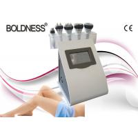 China Portable 5 IN 1 Cavitation Rf Vacuum Machine , Skin Tightening / Weight Loss Machine wholesale