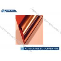 China Electronic Conductive Copper Foil 9 Mic - 12 Mic For li-ion Battery wholesale