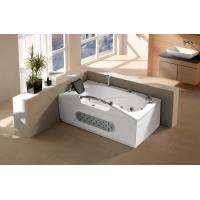 China Rectangle SPA bathtub whirlpool massage bathtub with jets and mian control panel (G672) on sale