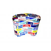 China Colorful Metal Tin Plate Coin / Money Tin Boxes With Cover / Lid wholesale