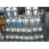China Stainless Steel Flanges Pipe Fittings  300 Series Raw Material ISO 9001 / PED wholesale