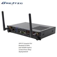 China ZC - OPS5010 Broadwell I3 5010u Open Pluggable Specification PC With 80PIN JAE Port wholesale
