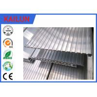 China 6063 T5 Extrusion Waterproof Aluminum Decking Flat Board with Interlocking Groove wholesale