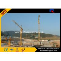 Quality 1.3T Tip Load External Climbing Tower Crane For Building Construction for sale