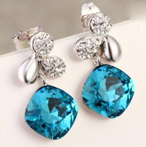China Ref No.:406044 River Flowers Earring european jewellery website buy jewelry online wholesale