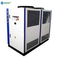China Chiller Agent 25 hp 15 ton 18 Ton Air Cooled Water Chiller for Plastic Injection Molding Machine wholesale