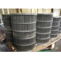 China Flat Flex Wire Mesh Belt , Stainless Steel Flat Wire Conveyor Belt Alkali Resisting wholesale