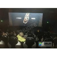 China Red / Black 5D Movie Theater For 5 Persons With Fiber Glass Material wholesale