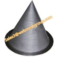 China Perforated conical strainer wholesale
