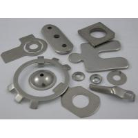 China Galvanized stainless steel / titanium Metal Stamping Service manufacturing process wholesale