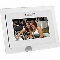 China 7 Inch Digital Photo Frame With Remote Control 800 x 480 Resolution wholesale