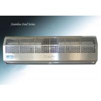 China Stainless Steel Cover Entryway Commercial Overhead Door Air Curtain wholesale