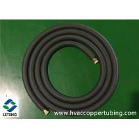 Buy cheap 0.8mm Wall Thickness Air Conditioning Copper Pipe 120℃ High Temperature Flame Retard from wholesalers