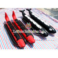 China Air Welded Inflatable Banana Boat Water Toys Durable 0.9mm PVC Tarpaulin on sale