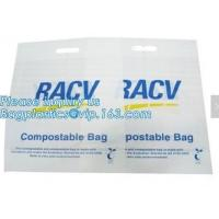 China corn starch shopping bags, bio shopper, Caddy Liner Compostable Biodegradable Food Waste Bags, Trash Can Liner on sale