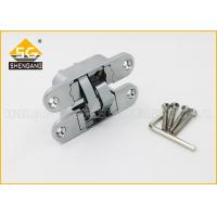 China Furniture Hardware 3D Concealed Invisible Door Hinges For Internal Wood Door wholesale
