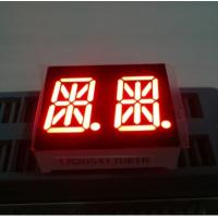 China Ultra Red 0.54 Inch Dual Digit 14 Segment Led Display Common Anode wholesale