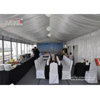 China Outdoor Party Catering Tent Commercial Party Tent with Luxury Glass Wall wholesale