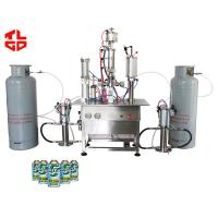 China Under Cap Freon Refrigerant Filling Machine 316 Stainless Steel Material on sale