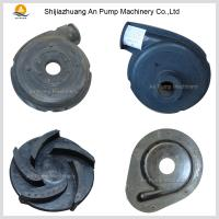 China Centrifugal Rubber Material Pump Parts on sale