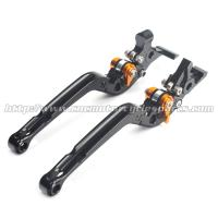 China Adjustable Long Folding Brake Clutch Levers , Brake And Clutch Levers For Motorcycles wholesale