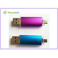 China OEM Mobile Phone USB Flash Drive , Micro Dual Port USB Flash Drive OTG wholesale