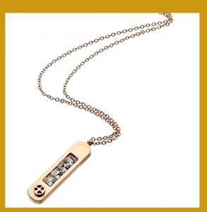 China Personalized Rectangle Pendant Necklace wholesale