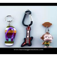 China Custom 3d soft pvc keychain key chain / Soft Rubber Keychains / Silicone Keyring wholesale