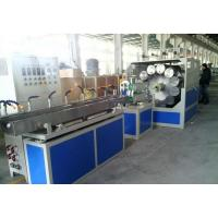 China Twin Screw CE Certificate Plastic Pipe Extrusion Line PVC Fiber Reinforced Soft Pipe Production wholesale