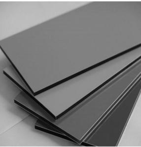 China External Wall PVDF Coated AA1100 Solid Aluminium Sheet wholesale