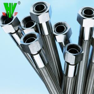 China 304 Stainless steel garden hose flange flexible Teflon hose wholesale