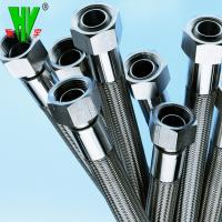China Shower hose high pressure 304 stainless steel hydraulic hose fittings PTFE tube wholesale
