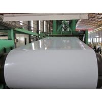 China G550 High - Strength Color Coated Steel Coil For Construction Roof , PPGL Coil wholesale