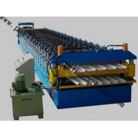 China Roof Tile Forming Machine Color Coated Double Layer Roll Forming Machinery , Metal Sheet Forming Tools wholesale