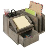 China Student Neat Wood Desk Organizer Accessories Mdf Multi Functional wholesale